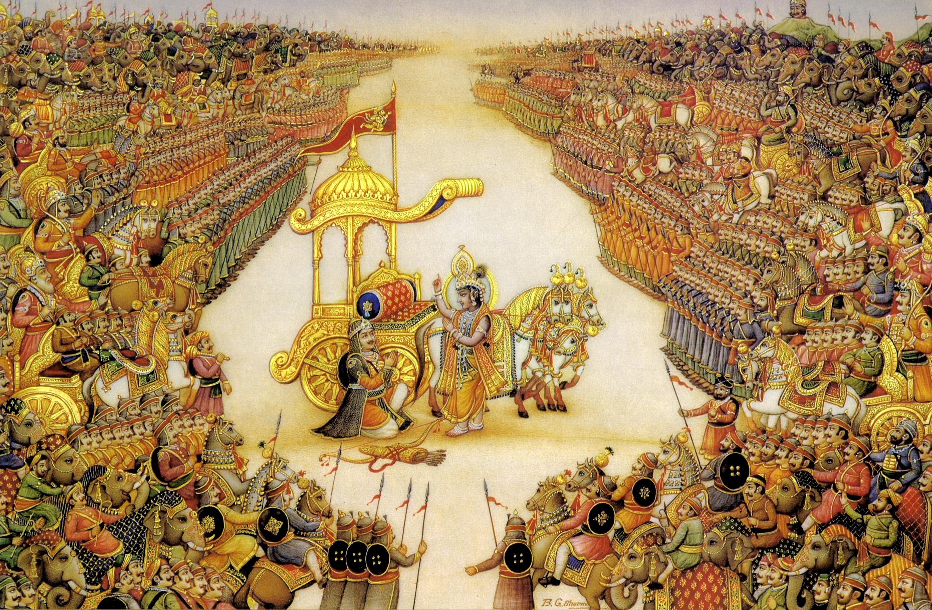 Bhagawadgita. Najważniejszy tekst o jodze